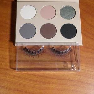 Smokey Volume 1 eyeshadow palette by KKW Beauty